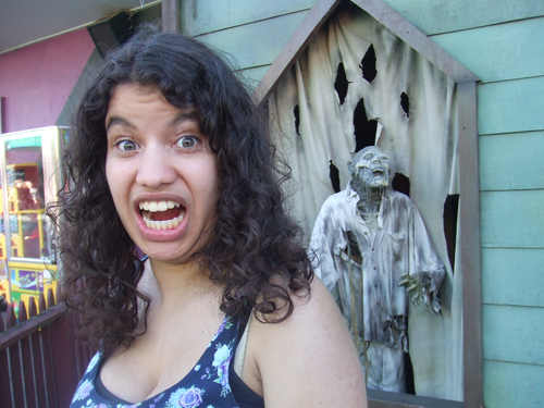 Picture of Self with Haunted House