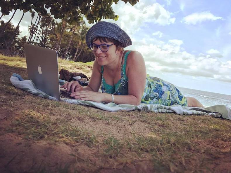 Beach Side Office in Maui