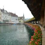 Travelling by Train Across Switzerland