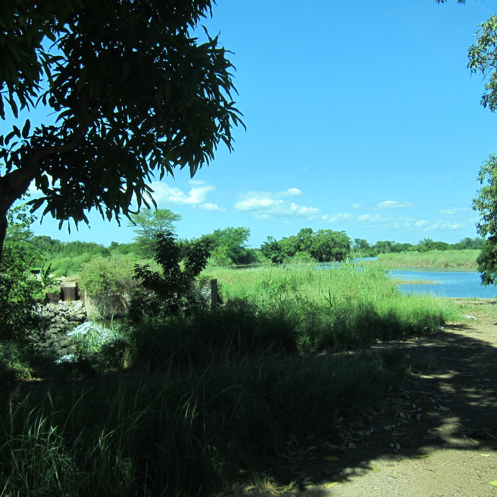 A small lake in Boane, just outside Maputo