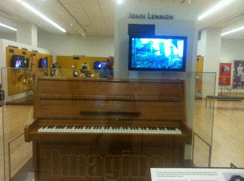 John Lennon's Piano!