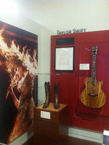 You can totally picture Taylor Swift wearing those boots, rockin out to country on that guitar!