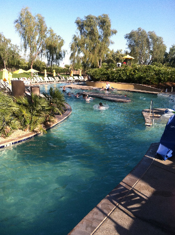 The JW Marriott's Lazy River