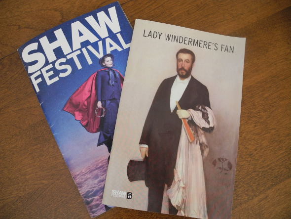 Shaw Festival Pamphlets
