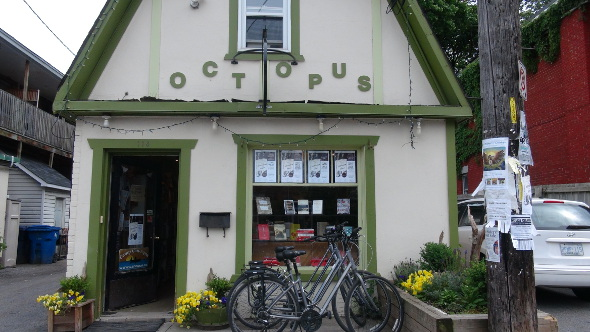 Octopus Books in Ottawa's Glebe