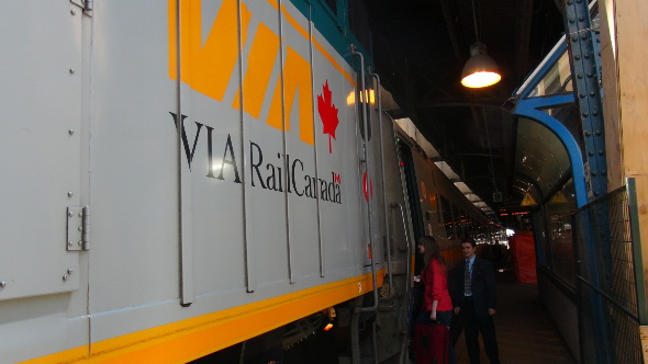 VIA Rail to Ottawa