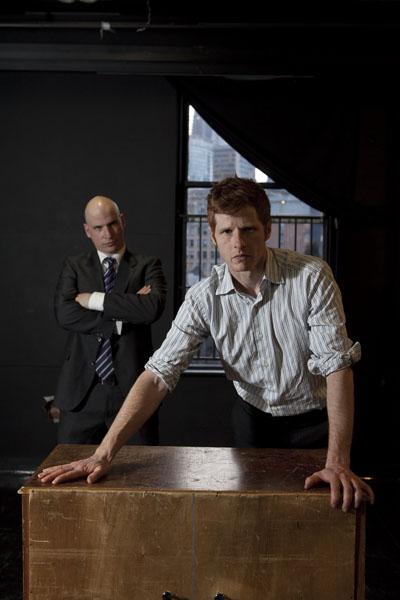 Michael Smith and Yurij Kis in The Farnsworth Intervention.