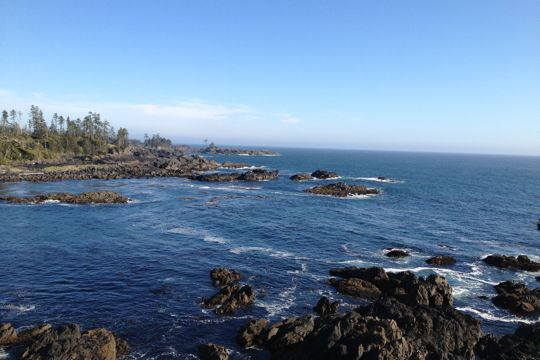 hitchhiking to Ucluelet