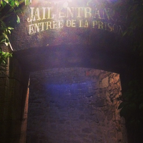 Entrance to the Carleton County Jail!