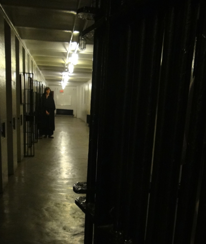 Entering the old Carleton County Jail Death Row