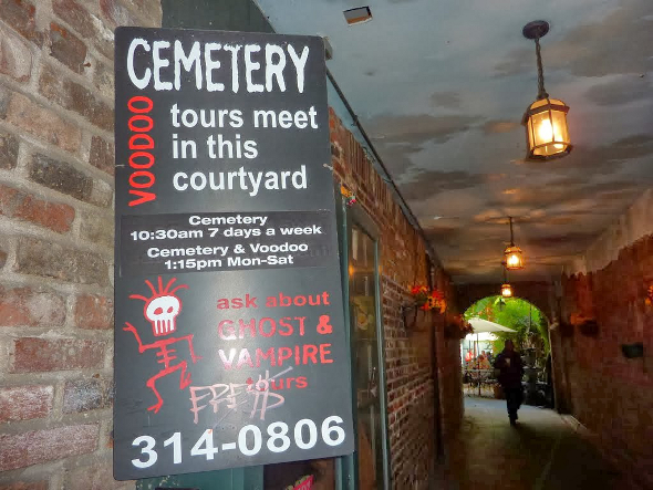 New Orleans French Quarter Cemetery Tours