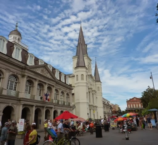 Jackson Square in New Orleans French Quarter