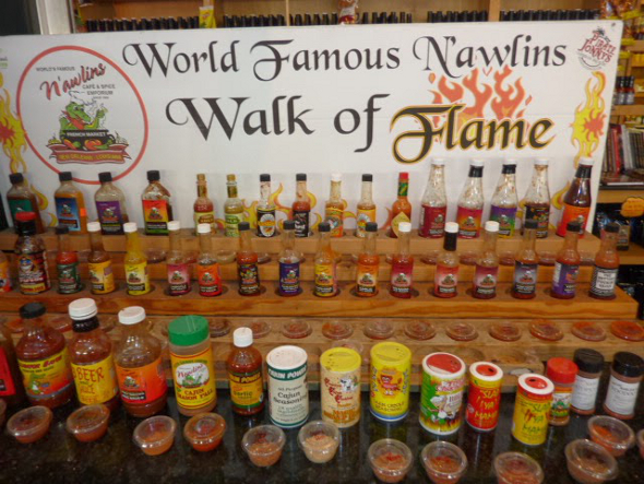 New Orleans Walk of Flame