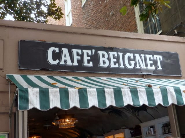 Cafe Beignet in New Orleans French Quarter