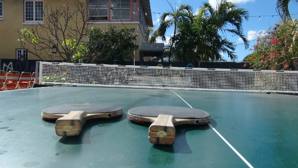 Backyard Games at Freehand Miami