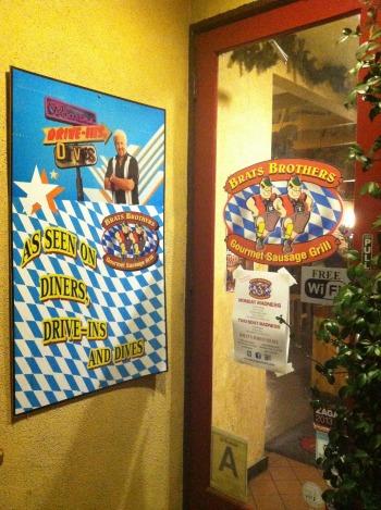 German Bratwurst restaurant Brats Brothers