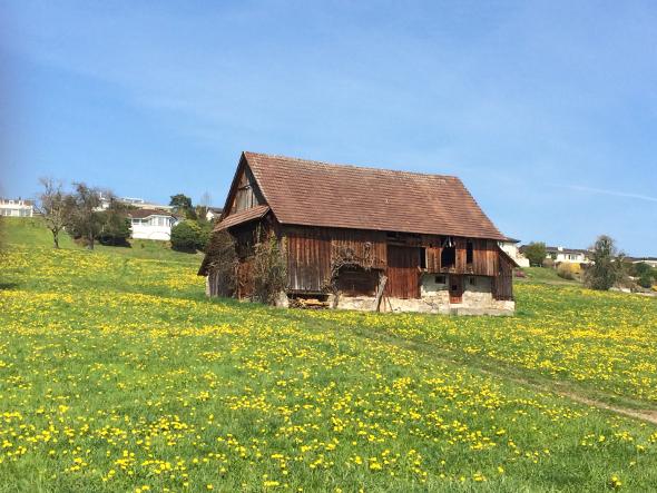Barn outside of Lucerne, Switzerland