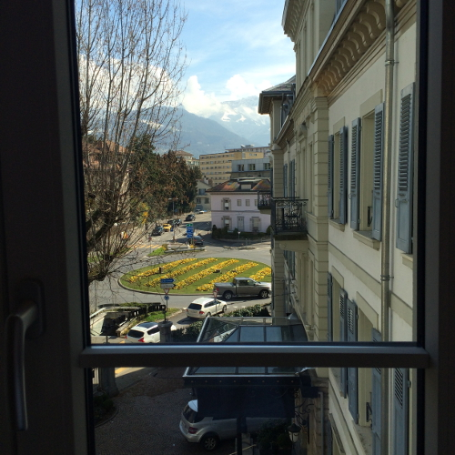 Hotel du Lac in Vevey, Switzerland