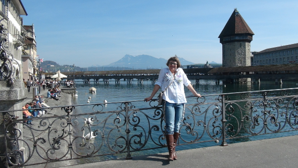 Erica Hargreave in Lucerne