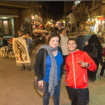 Jacqueline Swartz at the Market in Cairo
