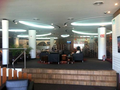 PriorityPass Lounge at Tijuana Airport
