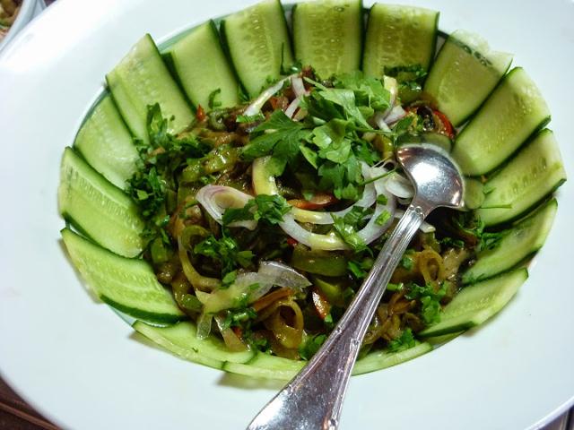 Salad at the Sonesta Star Goddess buffet