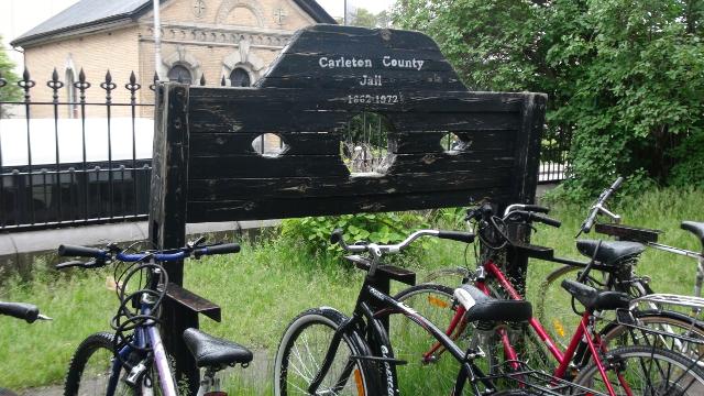 Bike friendly at Ottawa's Carleton Jail