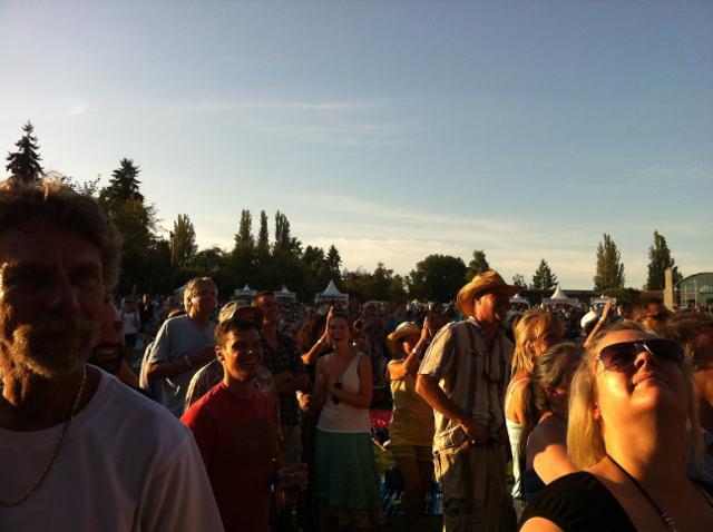 Summer music loving at Deer Lake Park in Burnaby