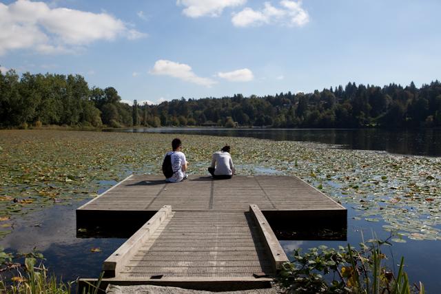 Deer Lake, photographed by Liz Kearsley