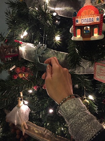 When you are able to take your time decorating your tree as a family it becomes a day full of memories. We have special ornaments that represent different events in our lives and we revisit those times as we hang each one.