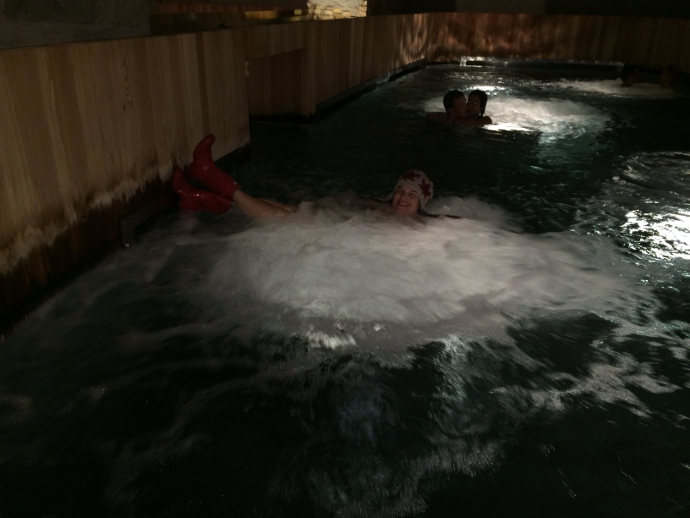 B2 Boutique's ancient malt vault thermal baths in Zurich