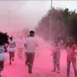 The Colour Run Los Angeles at Dodger Stadium