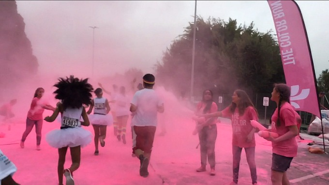 The Color Run #OneTouchOfColor