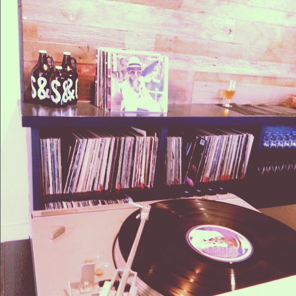 steel and oak vinyl