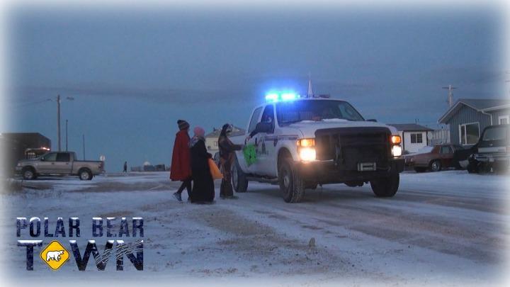 Halloween Town Polar Bear Patrol