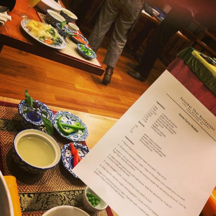 SalaThai Restaurant Thai Green Curry with Chicken Recipe