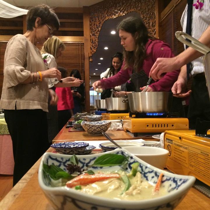 A Thai Cooking Class at SalaThai Restaurant.