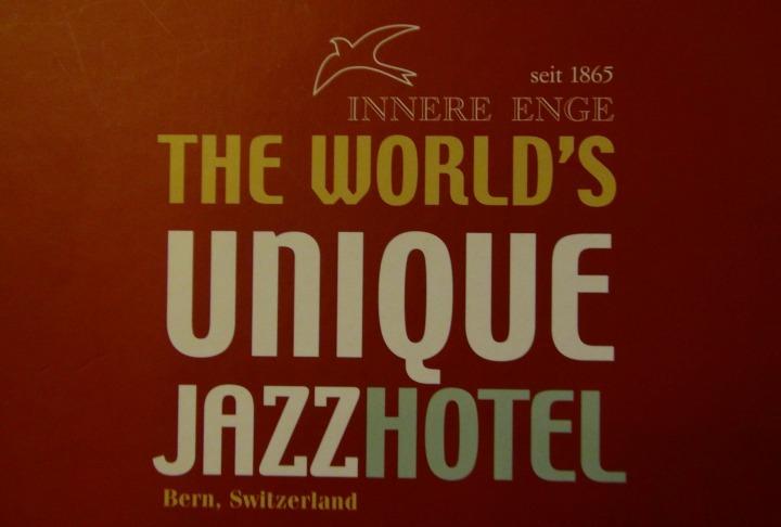 Jazz Hotel Innere Enge in Bern, Switzerland