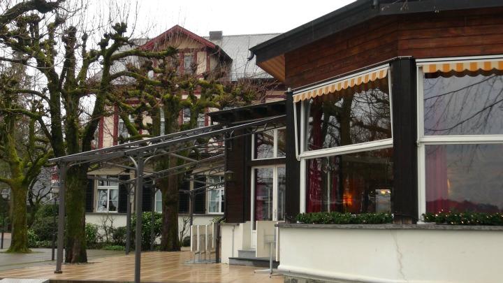 Historic jazz hotel Innere Enge in Bern, Switzerland.