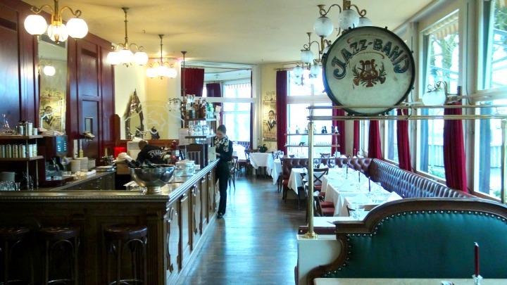 Josephine's Brasserie at Hotel Innere Enge in Bern Switzerland