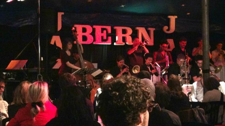 Big Band Jazz with the Swiss Jazz School Orchestra at Jazzfestival Bern