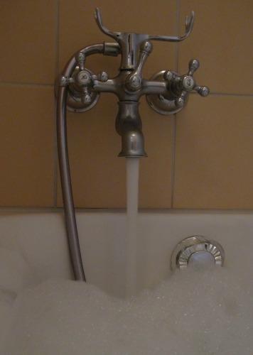Bubble bath at Hotel Innere Enge
