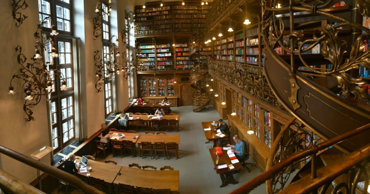 Rathaus Law Library, Munich, Germany