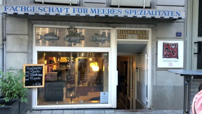 Fachgeschäft für Meeresspezialitäten (Seafood Shop)