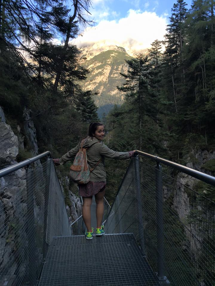 Taking the steps to becoming a female adventurer.