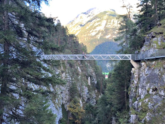 becoming a female adventurer in the German Alps.