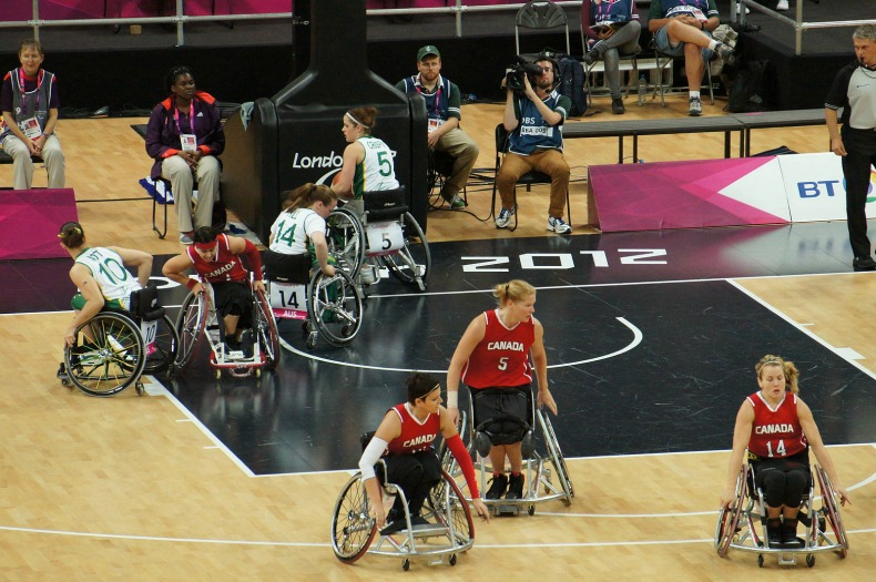 Wheelchair Basketball at London 2012 - Canada vs Australia.