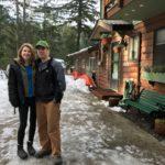Andie and Glen Tremblay at Cusheon Lake.