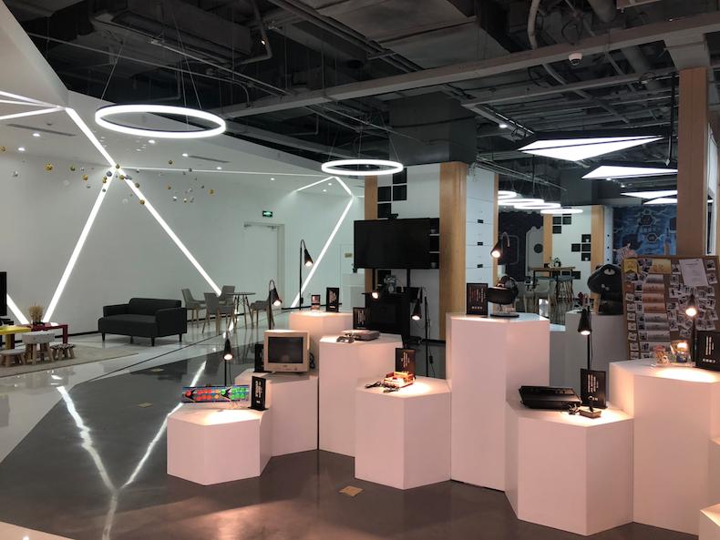 A virtual reality experience shop, Suzhou, China.