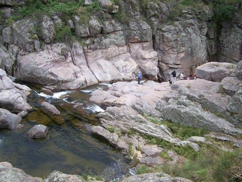 Rio Yupse gorge